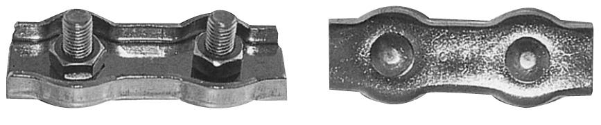 Çiftli Klemens 6mm