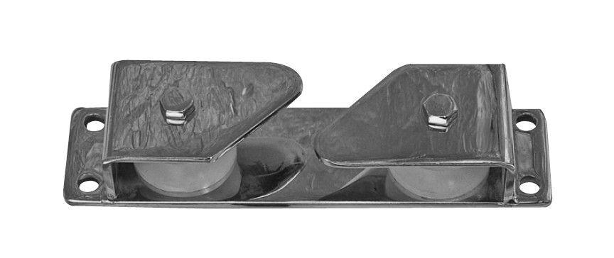 Saray Makaralı Kurtağzı 200x50mm. - Paslanmaz