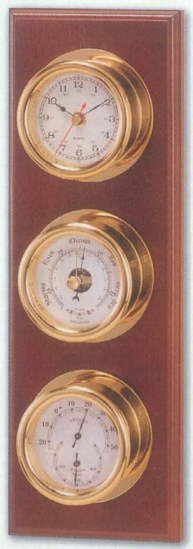 Sea Power CK184 Üçlü Set - Saat/Barometre/Termometre-Higrometre