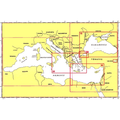 SHODB Seyir Haritası 10-A