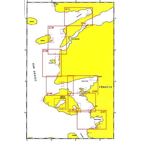 SHODB Seyir Haritası 2132