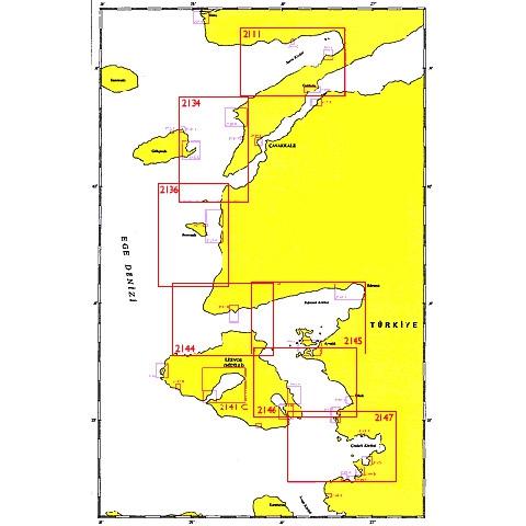 SHODB Seyir Haritası 2136