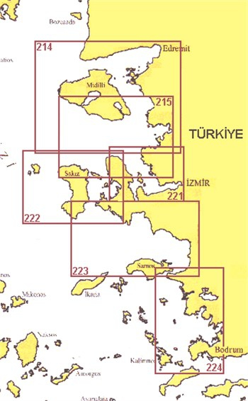 SHODB Seyir Haritası 215