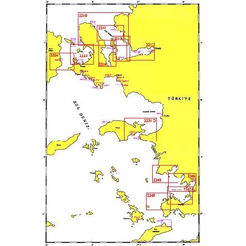 SHODB Seyir Haritası 2245