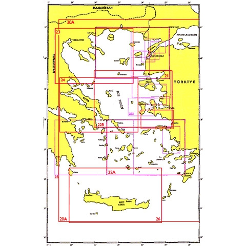 SHODB Seyir Haritası 22A