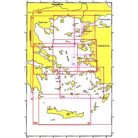 SHODB Seyir Haritası 22B