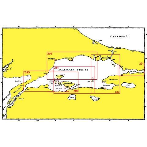SHODB Seyir Haritası 292