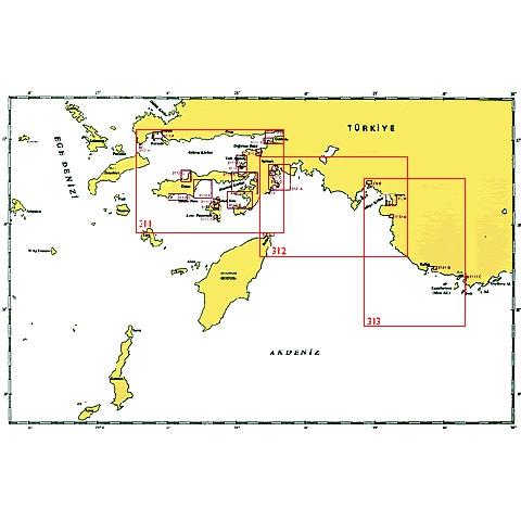 SHODB Seyir Haritası 313