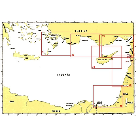 SHODB Seyir Haritası 33