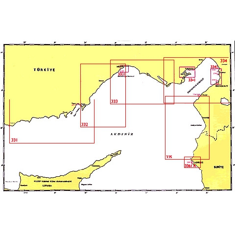 SHODB Seyir Haritası 332