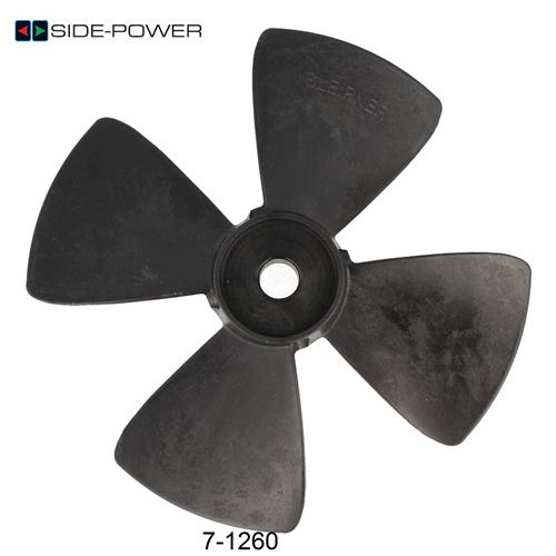 Side Power Prop 55-75-95 için - 18mm - 4 Kanatlı Yedek Pervane