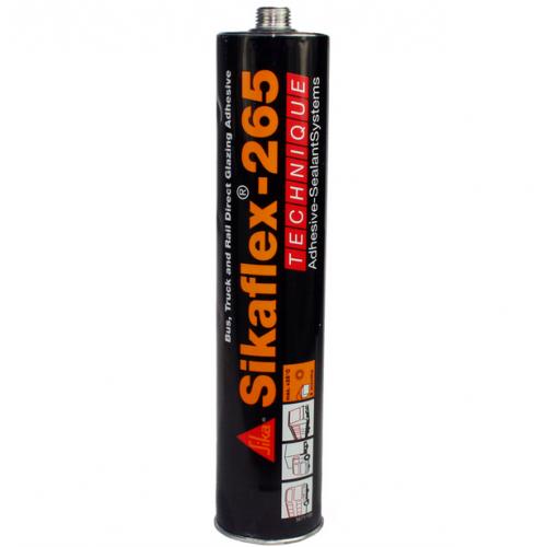 Sikaflex 265 DC Pleksiglas/Cam Yapıştırıcı 300ml. - Siyah