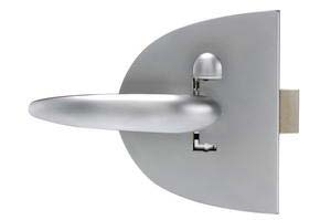 Southco Mobella Compact Clam Shell Menteşeli Kapı Kilidi - 28mm. Krom
