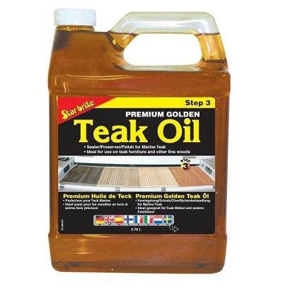Star Brite Premium Golden Teak Oil 3.79Lt.