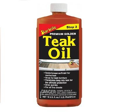 Star Brite Premium Golden Teak Oil 473ml.