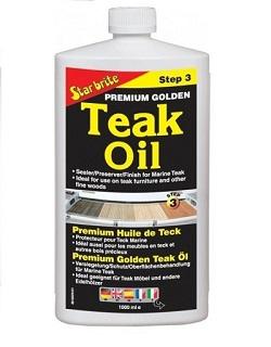 Star Brite Premium Golden Teak Oil 946ml.