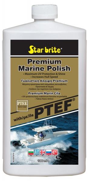 Star Brite Premium Marine Polish - Teflonlu Sıvı Pasta - 950ml.