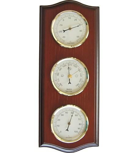 Sunartis Möller Üçlü Set - Barometre/Termometre/Higrometre