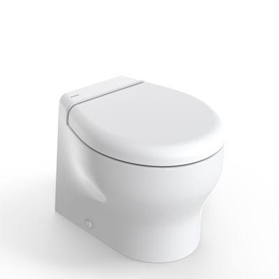 Tecma 2G Elegance Short Elektrikli Tuvalet 24V-Yavaş Kapanır Kapak-Taharet Musluklu
