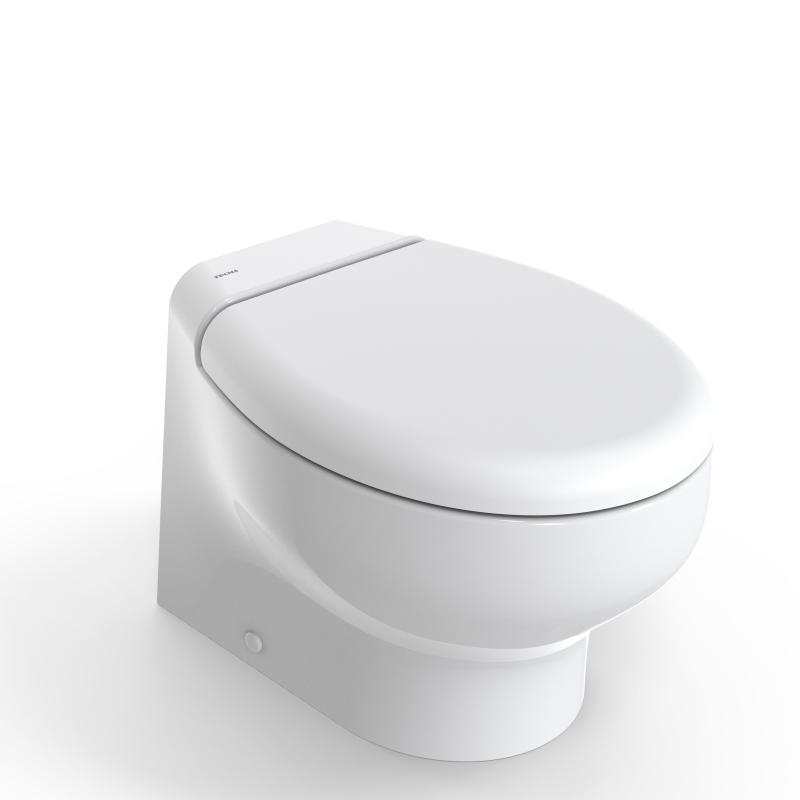 Tecma 2G Silence Plus Short Elektrikli Tuvalet 24V -Yavaş Kapanır Kapak-Taharet Musluklu