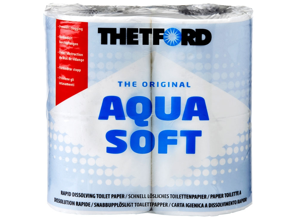 Tecma Aqua Soft Tuvalet Kağıdı (4 rulo )