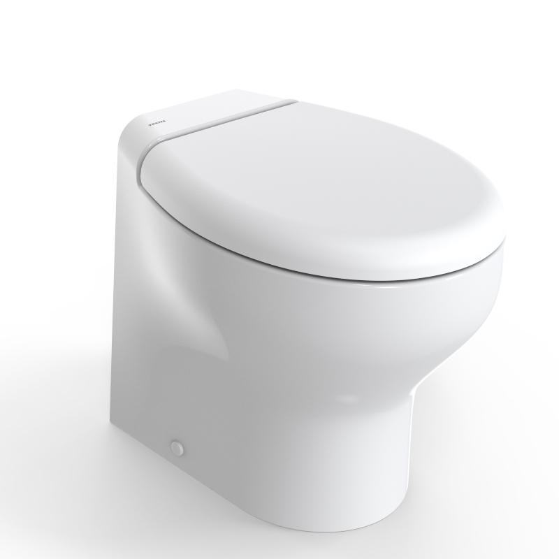 Tecma 2G Silence Plus Elektrikli Tuvalet 24V -Yavaş Kapanır Kapak-Taharet Musluklu