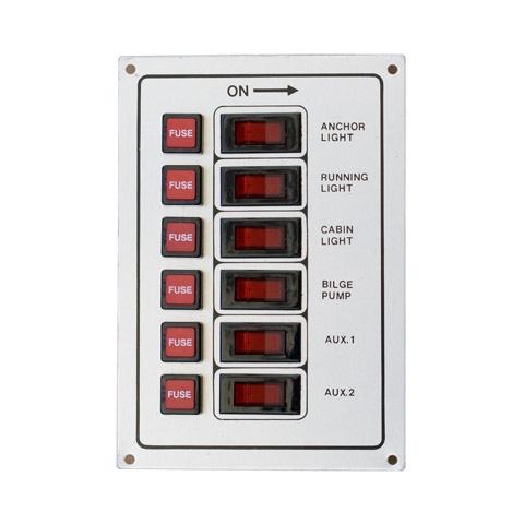 Tmc Switch Panel 6'lı 12V Işıklı