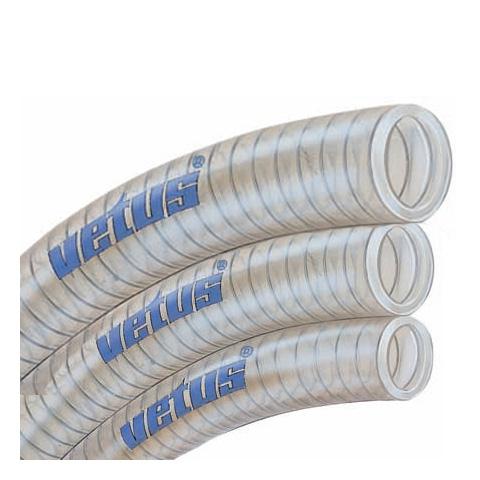 Vetus PVC Şeffaf Su Hortumu - 16x22,4mm.