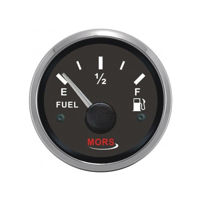 Mors Yakıt Göstergesi 12-24 V Siyah