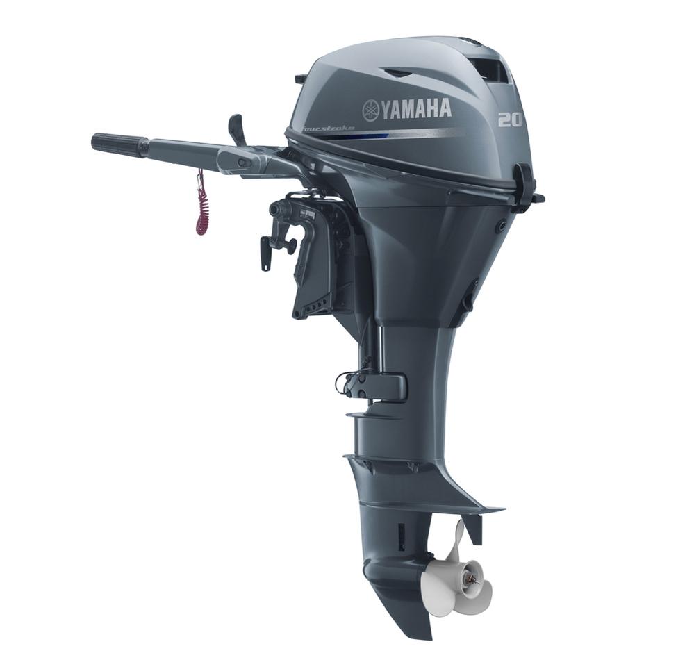 Yamaha 4 Zamanlı Deniz Motoru 20 Hp Kısa Şaft Manuel