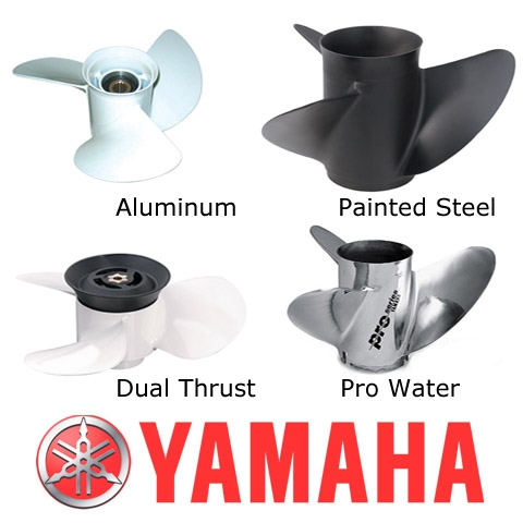 Yamaha Pervane  - 9 7/8 x 8