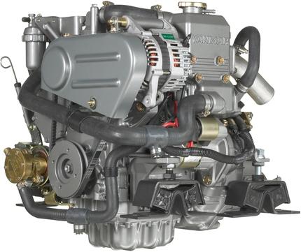 Yanmar Dizel Deniz Motoru 14 Hp Mekanik Şanzıman
