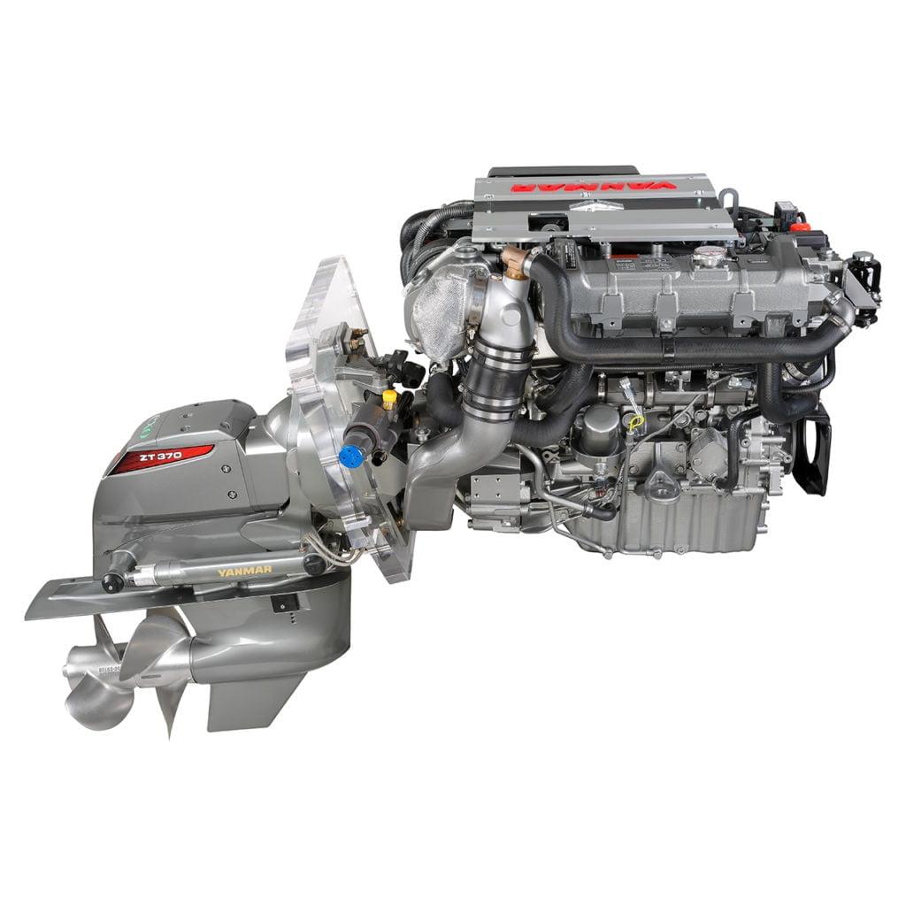 Yanmar Dizel Deniz Motoru 150 Hp Kuyruklu