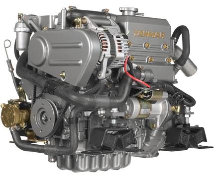 Yanmar Dizel Deniz Motoru 21 Hp Mekanik Şanzıman