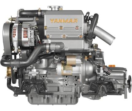 Yanmar Dizel Deniz Motoru 29 Hp Mekanik Şanzıman