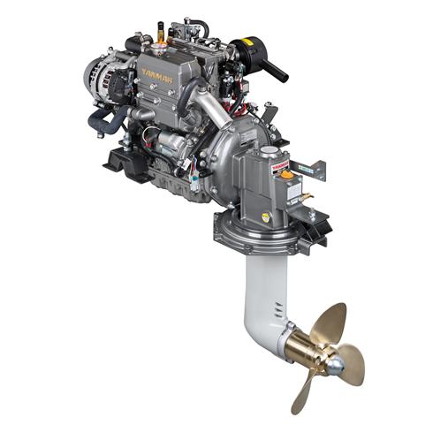 Yanmar Dizel Deniz Motoru 29 Hp Mekanik Şanzıman Yelken Kuyruklu