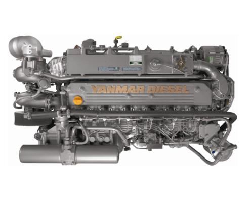 Yanmar Dizel Deniz Motoru 370 Hp Hidrolik Şanzıman Common Rail