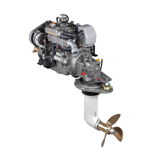 Yanmar Dizel Deniz Motoru 39 Hp Mekanik Şanzıman Yelken Kuyruklu