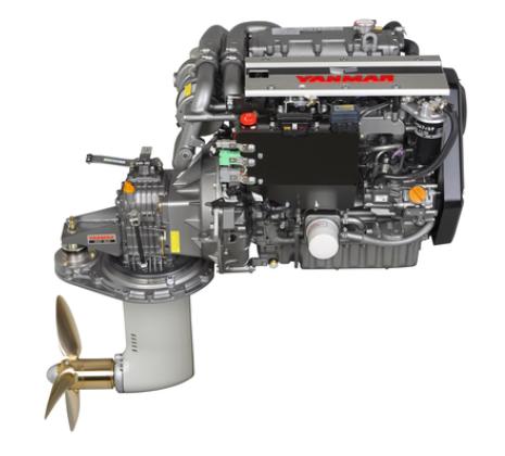 Yanmar Dizel Deniz Motoru 57 Hp Yelken Kuyruklu
